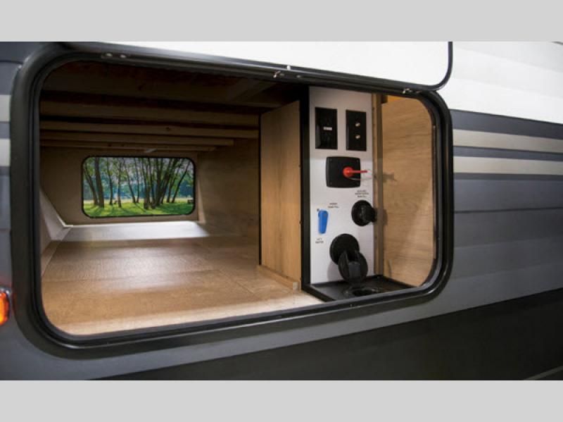 transcend travel trailer exterior