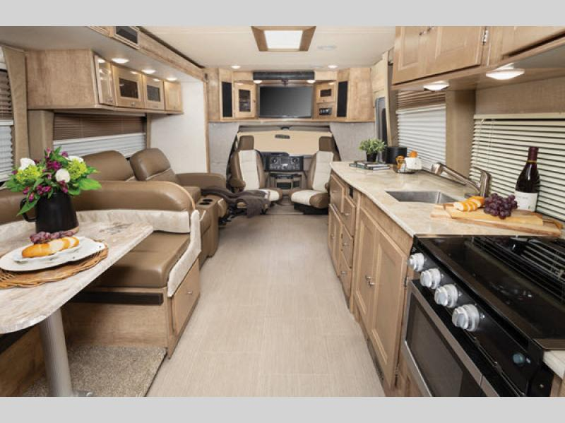 coachmen concord living area
