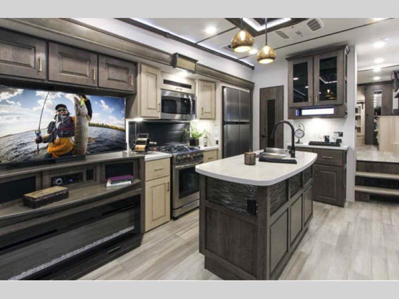 kitchen paradigm fifth wheel