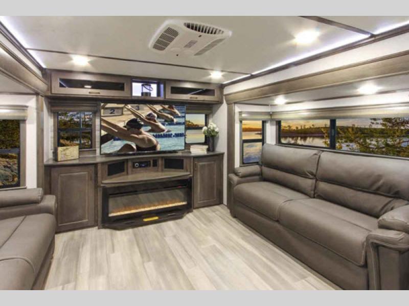 interior paradigm fifth wheel